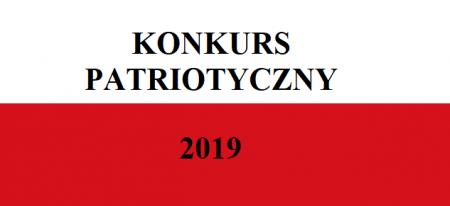 Konkurs Patriotyczny 2019 - regulaminy