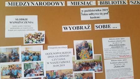 Październik miesiącem bibliotek szkolnych - podsumowanie obchodów