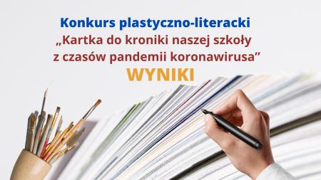 KONKURS PLASTYCZNO LITERACKI - WYNIKI